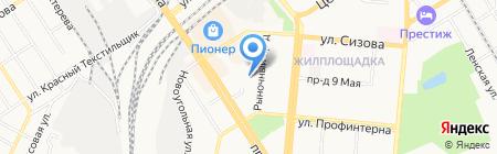 ЖаRа на карте Барнаула