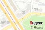 Схема проезда до компании Амадей в Барнауле