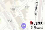 Схема проезда до компании Магазин сантехники и лакокрасочных материалов в Барнауле