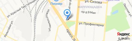 Банкомат Банк Русский Стандарт на карте Барнаула