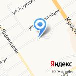 Ленинский коммунистический союз молодежи Российской Федерации на карте Барнаула
