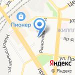 Отель 24 часа на карте Барнаула
