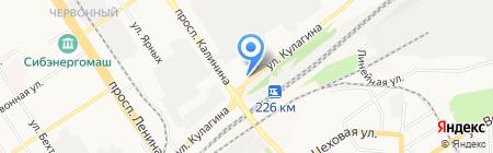 Макс-Плюс на карте Барнаула