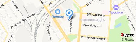 Ресурс на карте Барнаула