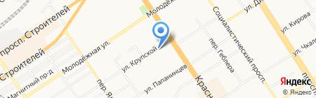 Комитет по делам молодежи культуре на карте Барнаула