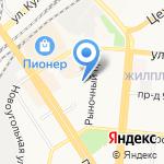 Барнаульское межрайонное общество охотников и рыболовов на карте Барнаула