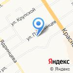 Алтайский краевой педагогический лицей-интернат на карте Барнаула