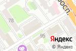 Схема проезда до компании РоссиЯночка в Барнауле