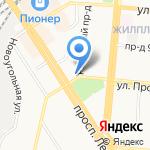 Невеста на карте Барнаула