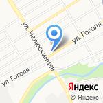 Инвест-Строй на карте Барнаула