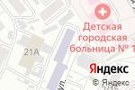 Схема проезда до компании Мечта в Барнауле