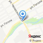 Барнаульский на карте Барнаула