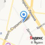 Оптика Евростиль на карте Барнаула