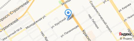 Ломбард ЛИКО на карте Барнаула