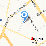 Дубок на карте Барнаула