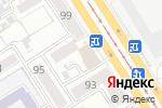 Схема проезда до компании А Белия в Барнауле