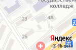 Схема проезда до компании Алло в Барнауле