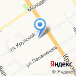 Весёлая продлёнка на карте Барнаула