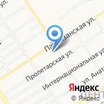Детский сад №30 компенсирующего вида на карте Барнаула