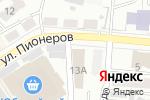 Схема проезда до компании М-класс в Барнауле