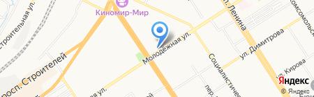 ОТРАЖЕНИЕ на карте Барнаула