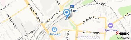 СТО мастеров на карте Барнаула