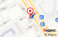 Схема проезда до компании Резонанс в Барнауле