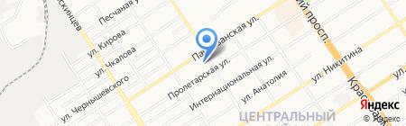 Детский сад №30 на карте Барнаула