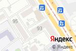 Схема проезда до компании Платежный терминал, Русфинанс банк в Барнауле