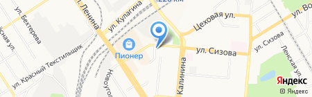 ТехноТерм-Сибирь на карте Барнаула