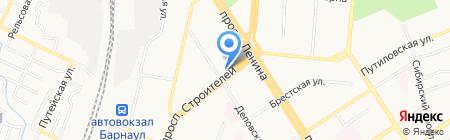 Fleur Cocktail на карте Барнаула