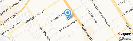Главное управление Алтайского края по здравоохранению и фармацевтической деятельности на карте Барнаула