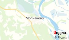 Отели города Молчаново на карте