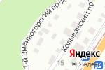 Схема проезда до компании Медовая кладовая Алтая в Барнауле