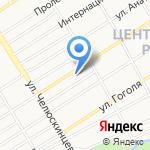 Адвокатский кабинет Бородулина И.В. на карте Барнаула