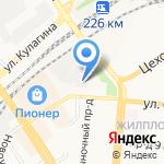 Ксеро-Сервис на карте Барнаула