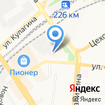 Ава на карте Барнаула
