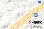 Схема проезда до компании GSM 777 в Барнауле
