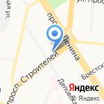 Флёр Коктейль на карте Барнаула