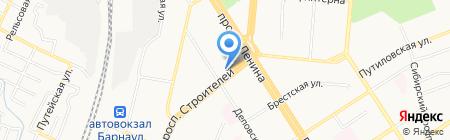 Гармония стиля на карте Барнаула