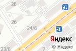 Схема проезда до компании Медикамаркет в Барнауле