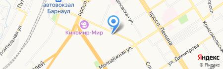 molbert на карте Барнаула