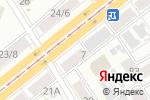 Схема проезда до компании Lady Sharm в Барнауле