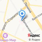 Детская городская больница №1 на карте Барнаула
