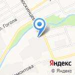 ТрансСиб на карте Барнаула