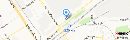 Тревога на карте Барнаула