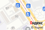 Схема проезда до компании Изумруд в Барнауле