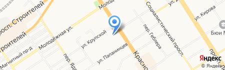 Агентство судебной экспертизы и правовой защиты Русский сокол на карте Барнаула