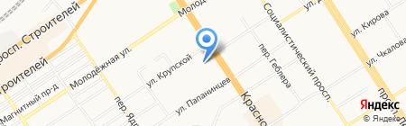 ТЕХНОЛОГИЯ на карте Барнаула