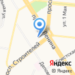 Нотариус Плевако И.В. на карте Барнаула